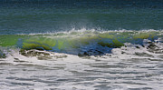 Timing Prints - Wave Sequence 2 of 4 Print by Betsy A Cutler East Coast Barrier Islands