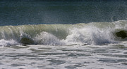 Timing Framed Prints - Wave Sequence 4 of 4 Framed Print by Betsy A Cutler East Coast Barrier Islands
