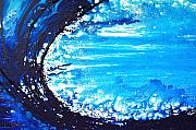 Abstract Art Originals - Wave by Sharon Cummings