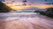 Burst Posters - Wave Surge Poster by Hawaii  Fine Art Photography