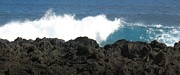 La Vague Posters - Wave - Vague - Ile De La Reunion - Reunion Island Poster by Francoise Leandre