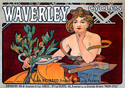 Czech Mixed Media - Waverley Cycles by Charles Ross