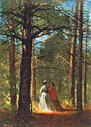 Vintage Images Prints - Waverly Oaks Print by Winslow Homer