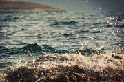 Mediterranean Landscape Prints - Waves in Time I Print by Taylan Soyturk