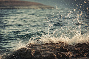 Mediterranean Landscape Prints - Waves in Time II Print by Taylan Soyturk