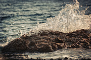 Mediterranean Landscape Prints - Waves in Time IV Print by Taylan Soyturk