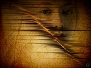 Portrait Of Woman Digital Art - Waves of change by Gun Legler