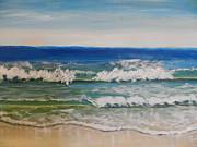 Waves Print by Pamela  Meredith