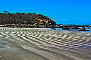 Nature - Wavy Beach by Shane Bechler