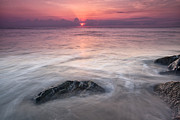Wavy Day Print by Jon Glaser