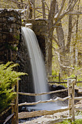 """wayside Grist Mill"" Framed Prints - Wayside Grist Mill 7 Framed Print by Dennis Coates"