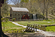 """wayside Grist Mill"" Framed Prints - Wayside Grist Mill 8 Framed Print by Dennis Coates"