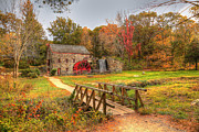Wayside Inn Metal Prints - Wayside Inn and Grist Mills Metal Print by Krista Sidwell