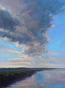 Tidal River Pastels - Wayward by Ed Chesnovitch