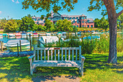 Lakes Digital Art - Wayzata Beach by Susan Stone