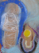Sacred Pastels Originals - We are One by Priscilla Cross