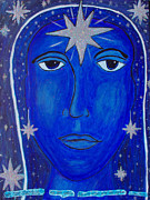 Joni Mitchell Paintings - We Are Stardust by Michelle Fairchild