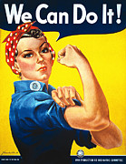 We Can Do It Print by J Howard Miller