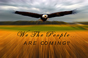 Randall Branham Art - We the People Are Coming by Randall Branham