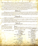 We The People Posters - We The People Constitution Page 4 Poster by Charles Beeler