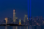New York City Skyline Photos - We Will Never Forget 2013 by Susan Candelario