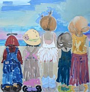 Discrimination Paintings - We Will Remember This by Vicki Aisner Porter