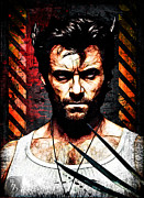 Wolverine Mixed Media Framed Prints - Weapon X Framed Print by The DigArtisT