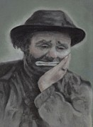 Kelly Pastels - Weary Willy by Pamela Humbargar