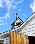 Frame House Photos - WEATHER VANE Apple Valley by William Dey