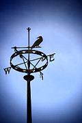 Weathercock Posters - Weather Vane Poster by Craig Brown