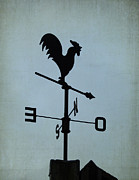 Weather Cock Prints - Weather Vane Print by Lesley Jane Smithers