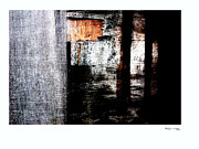 Xoanxo Cespon Prints - Weathered Abstract 4  Print by Xoanxo Cespon