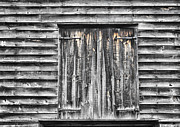 Monmouth County Park Prints - Weathered Barn Print by Gary Slawsky