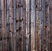 Cvnp Prints - Weathered Barn Wall Print by Claus Siebenhaar