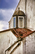 Weathered Building Of Medieval Europe Print by David Letts