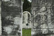 Headstones Prints - Weathered by Time Print by Paul W Faust -  Impressions of Light