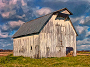 Old Barn Paintings - Weathered by Dominic Piperata