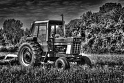 Tom Biegalski Acrylic Prints - Weathered Tractor Acrylic Print by Tom Biegalski