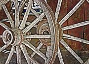 Judy Hall-Folde - Weathered Wagon Wheel