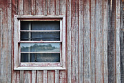 Shed Digital Art Metal Prints - Weathered Window I I Metal Print by Paulette Wright