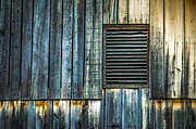 Wooden Paneling Prints - Weathered Wood Print by Brian Stevens
