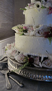 Chocoholic Photos - Wedding Cake by Arlene Carmel