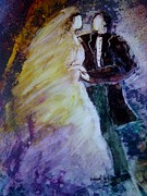 First Couple Paintings - Wedding Dance by Deborah Nell