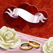 Wedding Memories V2 Passion Print by Bedros Awak