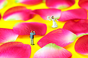 Wedding Digital Art Prints - Wedding Photography Little People big worlds Print by Paul Ge