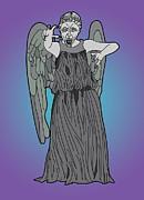 Weeping Angel Print by Jera Sky