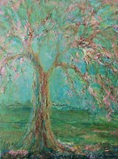 Mary Wolf - Weeping Cherry Tree