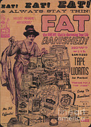Science Source - Weight Loss Ad Sanitized Tapeworms