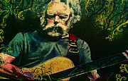 Kevin J Cooper Artwork Paintings - Weir Still Rockin by Kevin J Cooper Artwork