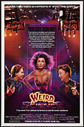 Movies Digital Art Framed Prints - Weird Science Poster Framed Print by Sanely Great